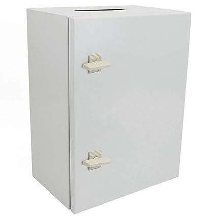 Cablematic - Caja de distribución eléctrica metálica con protección IP65 para fijación a pared 700x500x200mm