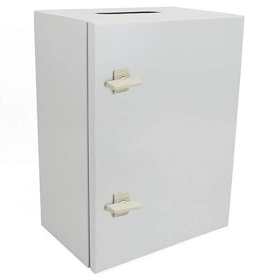 Cablematic - Caja de distribución eléctrica metálica con protección IP65 para fijación a pared 700x500x200mm: Amazon.es: Electrónica