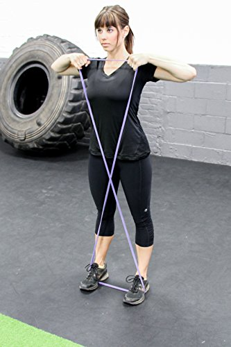 "Purple - #1 Pull-Up Band | Assisted Pull-up Loop Band | Resistance & Stretch Band Size: 1/2"" x 4.5mm Resistance: 5-35lbs by Serious Steel Fitness (Image #8)"