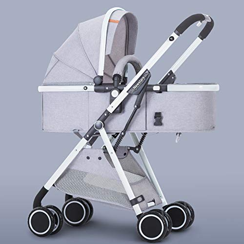 Baby Stroller High Landscape Toddlers Prams from Birth Newborn Pushchairs Baby Strollers Fold Two Way,c