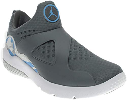 Nike Men's Jordan Trainer Essential Cool Grey/Pure Platinum-White High-Top Basketball Shoe - 10M