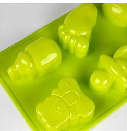 Stampo in Silicone per Dolci a Forma di Piccoli Piedi