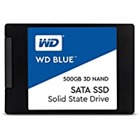 WD Blue 3D NAND 500GB PC SSD - SATA III 6 Gb/s 2.5/7mm Solid State Drive - WDS500G2B0A