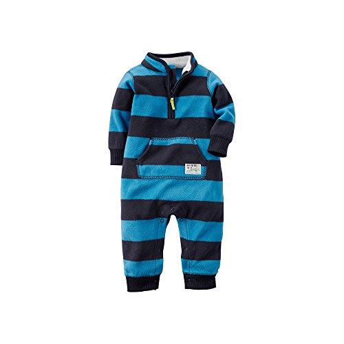 Carters Baby Boys Fleece Jumpsuit