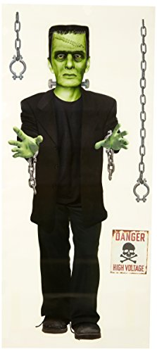 Paper House Productions WA-3001E Sticky Pix Halloween Wall Sticker, Frankenstein (Review Halloween 2)