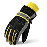 TRIWONDER Ski Gloves for Kids - Waterproof Snowboard Winter Warm Gloves Thermal Fleece Snow Gloves for Boys Girls
