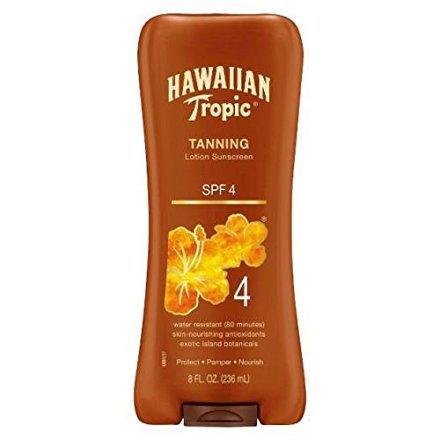 tropic dark tanning spf