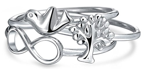 Bling Jewelry Infinity Stackable Silver product image