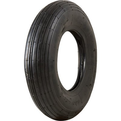 Marathon Tires Pneumatic Wheelbarrow Tire - Tire Only, 4.80/4.00-8in.