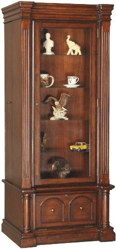 8 Gun Slider / Curio Cabinet in Brown Cherry
