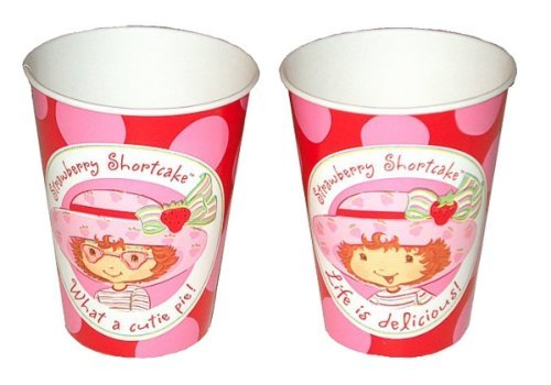 (Strawberry Shortcake Paper Cups 8ct)