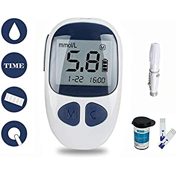 Amazon Com Fora D10 2 In 1 Blood Glucose Amp Pressure