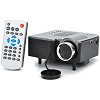 24W LCD Video Projector with Remote Control Support HDMI / SD / AV / VGA / USB for Home Theater