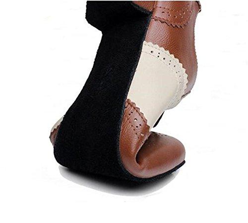 Suede Dance Genuino eu38 Nanxie Cuero Único Black Latin 38to45 Eu43 De Suave Waltz Tamaño Zapatos Hombre q8wX0U84