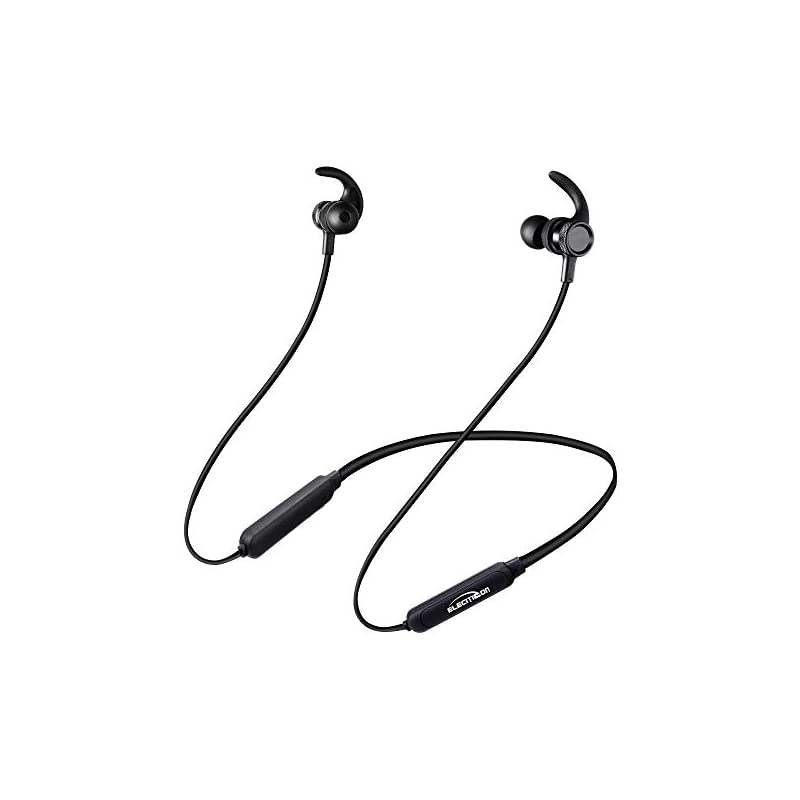 [20H Playtime] Bluetooth Headphones, 2019 Newest ! Bluetooth Stereo Headset Noise Cancelling Earbuds IPX7 Sweatproof, Magnetic in-Ear Earphones Mic Comfortable Neckband Sports