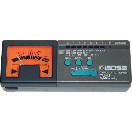 BOSS Audio TU 12 Chromatic Tuner