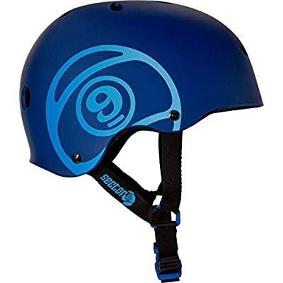 Sector 9 Logic II L Blue Skateboard Helmet : Sports & Outdoors