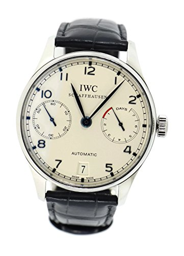 - IWC Portuguese Automatic-self-Wind Male Watch IW500107 (Certified Pre-Owned)