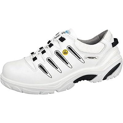 """Abeba 34584-44 talla 44 """"ESD-de peluche"""" de seguridad zapatos bajo - blanco/negro"""
