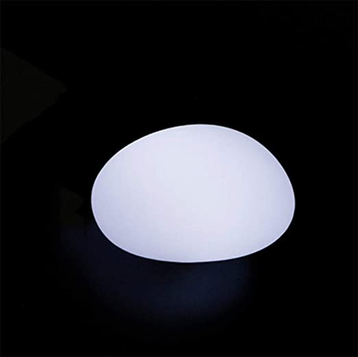Lámpara De Luz Led Para Exterior, Impermeable, Luz Decorativa, Luz De Jardín, Lámpara De Adoquines Luz Nocturna De Control Remoto Forma De Piedra Led: Amazon.es: Iluminación