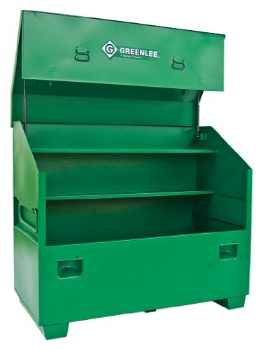 (Greenlee 3660 Slant Top Storage Box, 60-Inch By 30-Inch By)