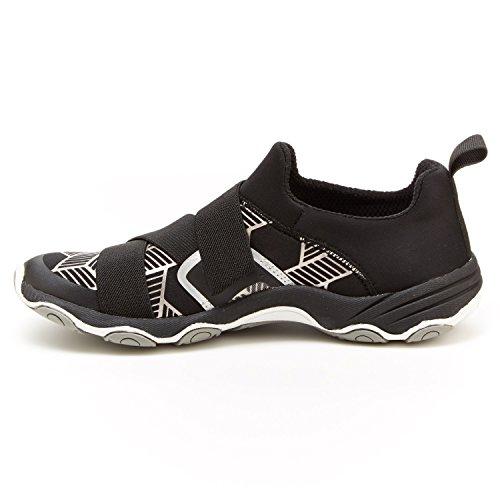 Jambu Womens Oklahoma-Vegan Sneaker,Black/Grey Neoprene/Lycra,US 9 M