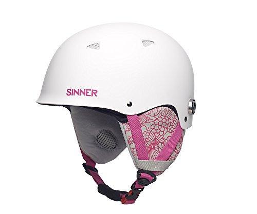 Sinner The Magic Casque de ski/snowboard Blanc - Blanc mat