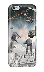 New Fashionable Hxy KFYFstO9116MXzie Cover Case Specially Made For Iphone 6 Plus(star Wars At-at)