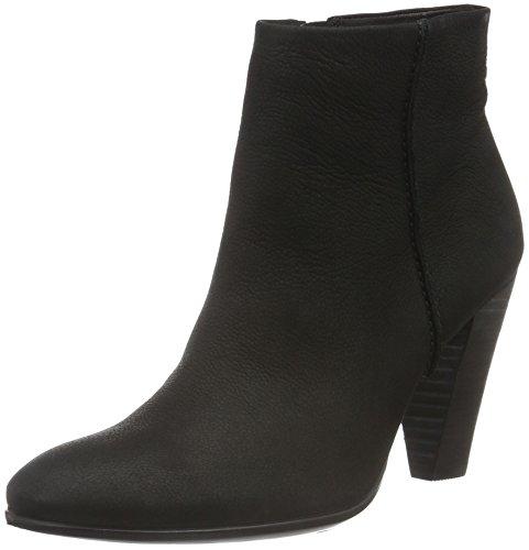 Ecco Donna Stivaletto 75 Caviglia Nero Nabuk