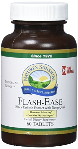 Ease Supplement - NATURE'S SUNSHINE Flash-Ease Time Release Supplements, 60 Count