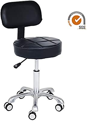 Remarkable Amazon Com Covibrant Modern Rolling Adjustable Stool With Unemploymentrelief Wooden Chair Designs For Living Room Unemploymentrelieforg