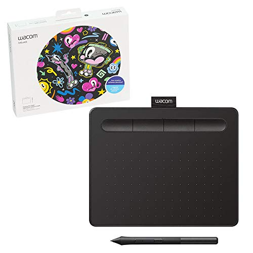 Wacom Intuos Graphics Drawing Tablet with 3 Bonus Software Included, 7.9