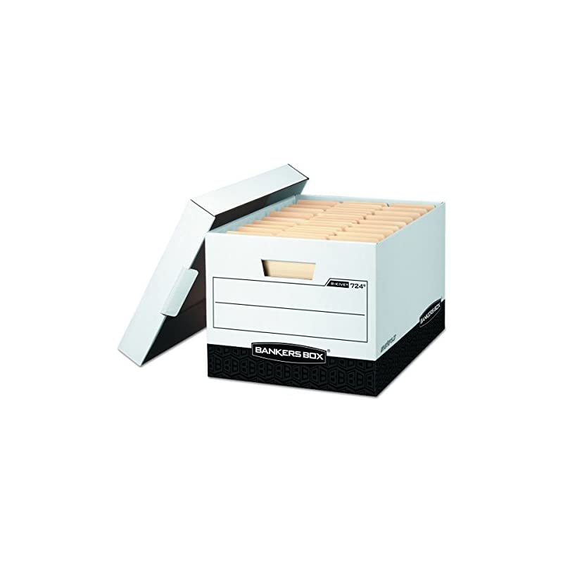Bankers Box R-KIVE Heavy-Duty Storage Bo