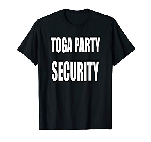 Mens Toga Party Security Shirt For Staff Greek Fraternity Party]()
