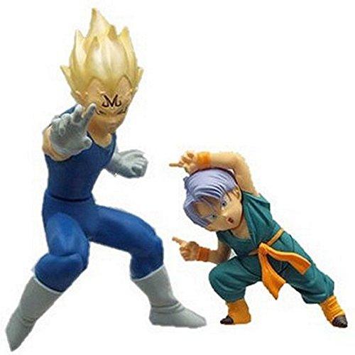 HG Plus EX Action Pose Dragon Ball Z Figure - Vegeta & Trunks (Dragon Ex Ball)