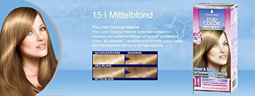 Amazon.com   Schwarzkopf Poly Color Shampooing Colorant 15 Mediumblonde 90  ml   3 fl oz   Beauty 3950b6d6ec