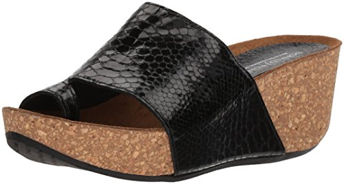 Donald J Pliner Women's Ginie Slide Sandal, Black, 8.5 Medium US by Donald J Pliner