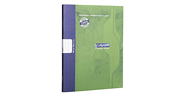 Calligraphe Gamme 7000 Notebook 48 Pages