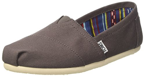 - TOMS Women's Classic Canvas Slip-On,Ash,8.5 M US