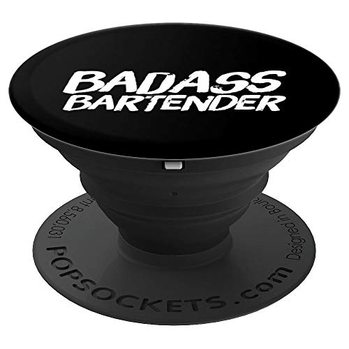 Bartender Cocktail Drinking - PopSockets Grip and Stand for Phones and Tablets]()