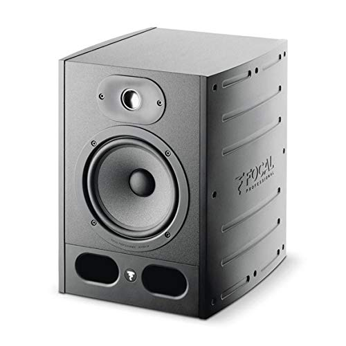 "Focal 2x Alpha 65 6.5"" Active 2-Way Near Field Professional Monitoring Speaker, 105W Power"