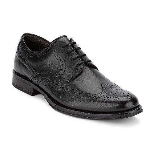 - Dockers Mens Moritz Brogue Leather Dress Wingtip Oxford Shoe, Black, 10 M