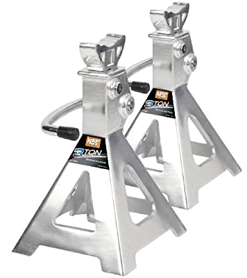 NOS NAJS3T 3-Ton Aluminum Jack Stand Ratchet Style, 2-Pack