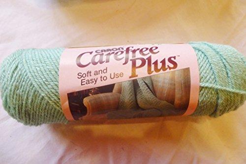 Willow (Green) Caron Carefree Plus 100% Acrylic Worsted Weight Yarn (Caron Chunky)