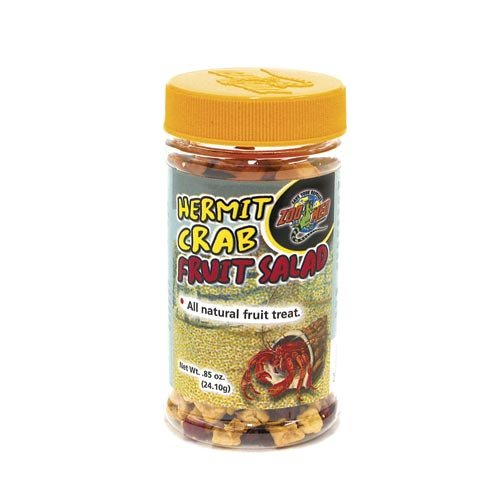 Hermit Crab Food - Zoo Med Laboratories SZMHC61 Hermit Crab Fruit Salad