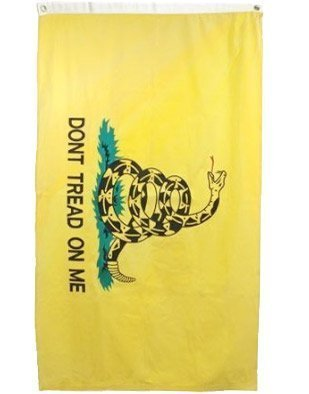 2×3 Ft Gadsden FLag by www.wildflags.com For Sale