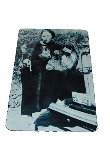 Bonnie Elizabeth Parker Photo Reproduction Sign 8 X 12 Inches New Aluminum