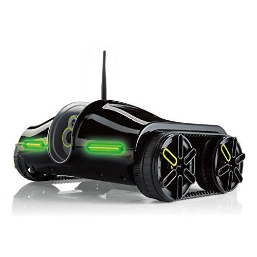 Tank Remote Controlled - Brookstone Rover 2.0 App-Controlled Wireless Spy Tank