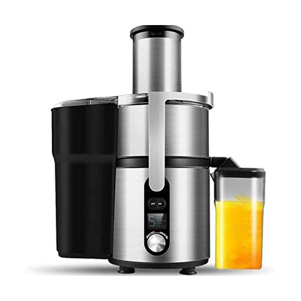 SMX Juicer Macchina con 5 Speed Control, Big Mouth Scivolo di Alimentazione, centrifuga, Facile da Pulire, Acciaio… 1 spesavip