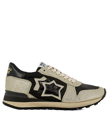 Cuero Alhenanchnynbnn Zapatos Mujer Atlantic Oro Stars qn6wSx